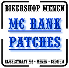MC Biker Rank Patches