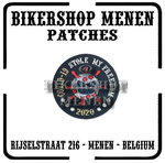 Covid 19 Stole My Freedom biker patch 3
