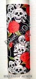 Multifunctionele tube skulls and roses