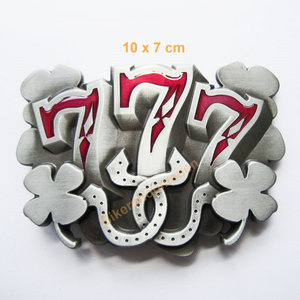 Belt buckle 3x lucky7