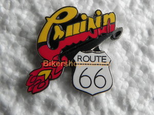 Pin Cruisin Route 66