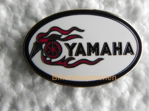 pin Yamaha oval