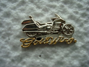 GoldWing 01 Biker pins