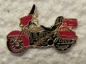 Pin Harley Davidson red