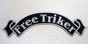 Biker back rocker FREE TRIKER wit 1