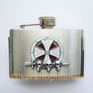 Buckle Celtic Embleem Flask 3oz