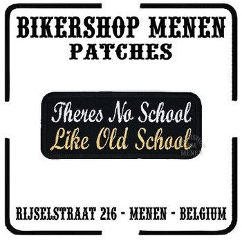 Theres no school like old school biker patch