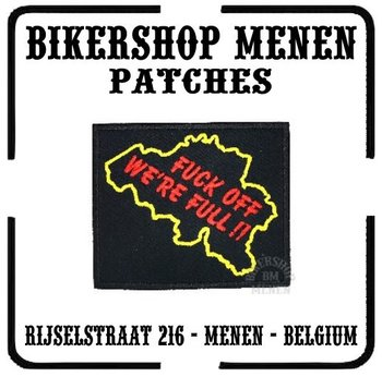 Belgium - We're full biker patch