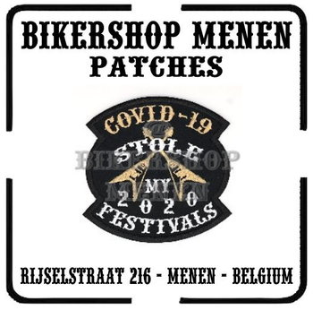 Covid 19 Stole My 2020 Festivals patch