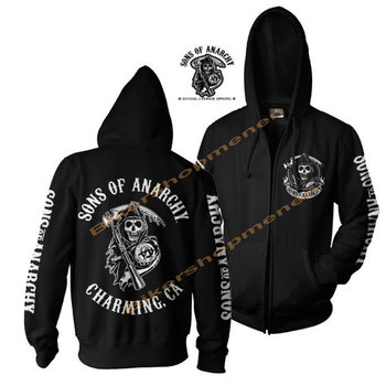 Sons Of Anarchy - Charming CA - Zip Hoodie