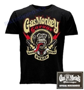 Gasmonkey Blood Sweat Beers t-shirt
