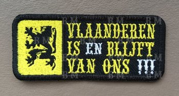 Vlaanderen is Biker patches