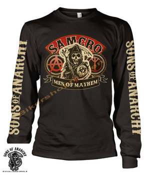 Sons of Anarchy - SAMCRO - Men Of Mayhem - Long Sleeve T-Shirt