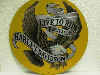 HD LIVE TO RIDE EAGLE
