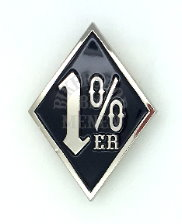 1% One Percenter pins
