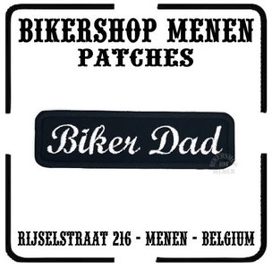 Biker Dad patch
