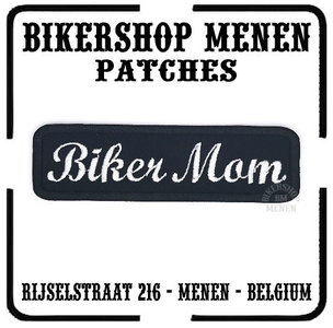 Biker Mom patch