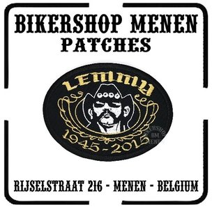 Lemmy biker patch