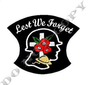 Lest We Forget Soldiers Head