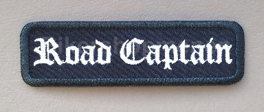 Road Captain biker patch