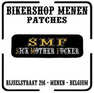 SMF Sick Mother Fucker biker patches