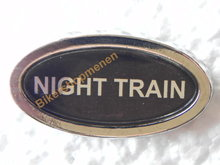 Harley night train pin