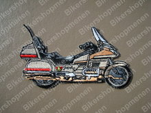 biker-patch-Goldwing-motorcycle