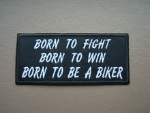 Born-to-fight