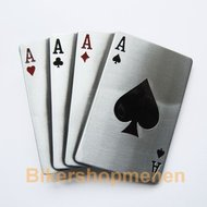 Belt Buckle Aces Poker Cards