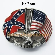 Buckle Confederate and Dixie