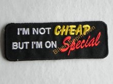 Biker patch - I'm not cheap,but i'm on special