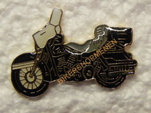 Pin Harley Davidson Black