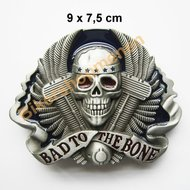 Buckle Skull Bad to the bone